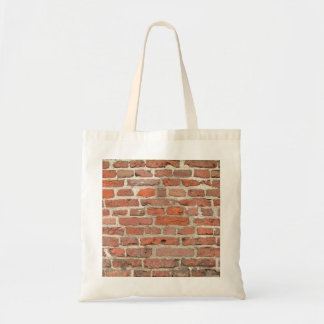 Red Brick Wall Structure Tote Bag