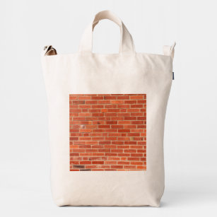 0c15ce8ddc1e Red Brick Wall Texture Background Duck Bag
