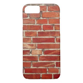 Red Brick Wall Texture iPhone 7 Case