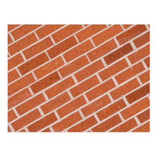 Red Brick Wall Texture Structure Postcard