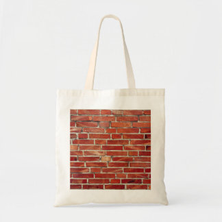 Red Brick Wall Texture Tote Bag
