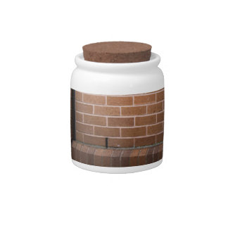 Red Brick Wall Textured Candy Dishes
