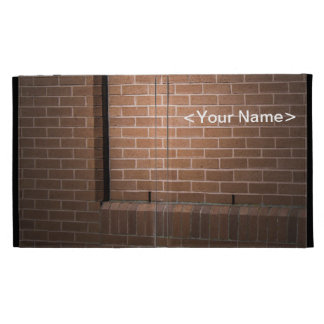 Red Brick Wall Textured iPad Folio Covers