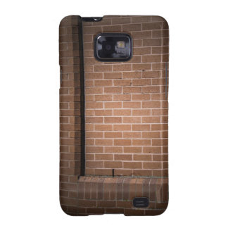 Red Brick Wall Textured Galaxy S2 Cover