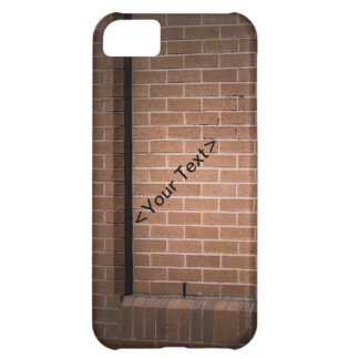 Red Brick Wall Textured Case For iPhone 5C