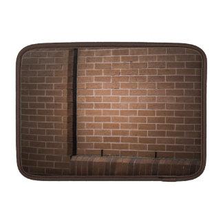 Red Brick Wall Textured MacBook Air Sleeves