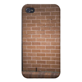 Red Brick Wall Textured Covers For iPhone 4