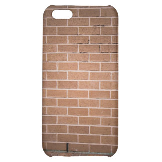 Red Brick Wall Textured iPhone 5C Cover