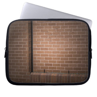 Red Brick Wall Textured Laptop Sleeve