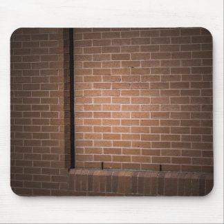 Red Brick Wall Textured Mousepad