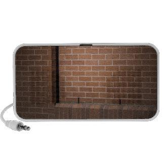 Red Brick Wall Textured Mp3 Speaker