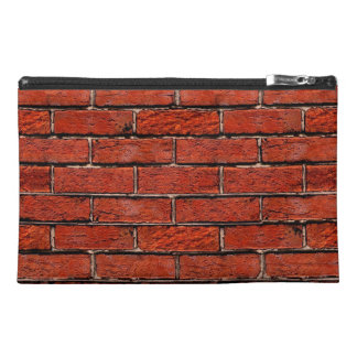 Red Brick Wall too ~ Travel Accessories Bag