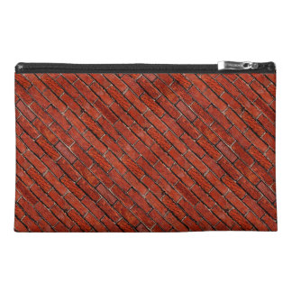 Red Brick Wall too ~ Travel Accessory Bags