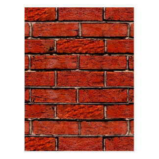 Red Brick Wall too ~ Postcard
