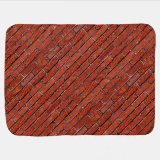 Red Brick Wall too ~ Swaddle Blankets