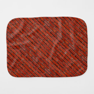Red Brick Wall too ~ Burp Cloth