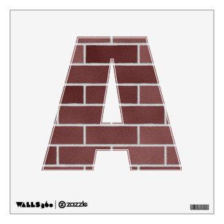 Red Brick Wall Wall Skin