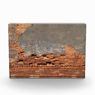Red Brick Wall with Copy Space Award