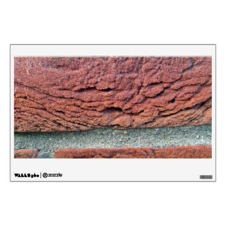 Red Brick Wall Decals