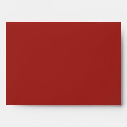 Red bricks envelopes