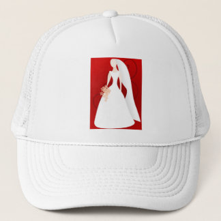 Red Bride Trucker Hat