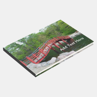 Red Bridge Over Water Guest Book