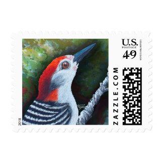 Red Brings Hope Postage Stamp