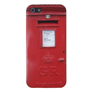 Red British Post box Cases For iPhone 5