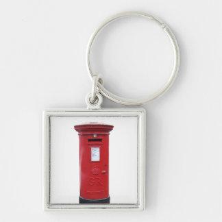 Red British Post box Key Chain