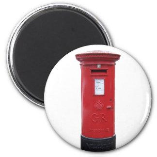 Red British Post box Magnet