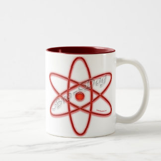 Red Brodog Two-Tone Coffee Mug