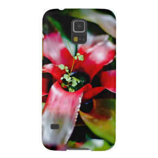 Red Bromeliad Case For Galaxy S5