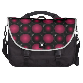 Red bubbles interesting unusual cricketdiane art commuter bags