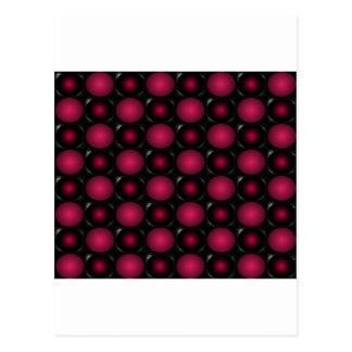 Red bubbles interesting unusual cricketdiane art postcard