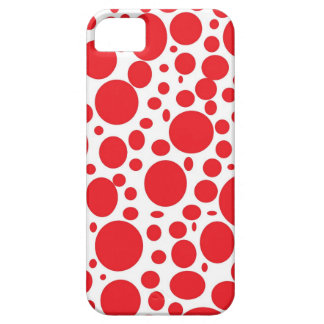 Red Bubbles iPhone 5 Case