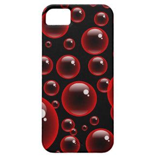 Red Bubbles iPhone SE/5/5s Case