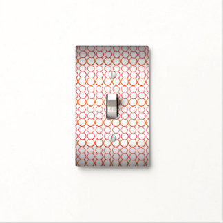RED BUBBLES SINGLE TOGGLE LIGHT SWITCH LIGHT SWITCH COVERS