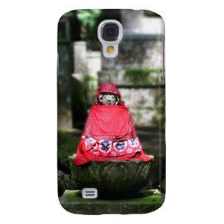 Red Buddha / Jizo in Forest Samsung Galaxy S4 Case