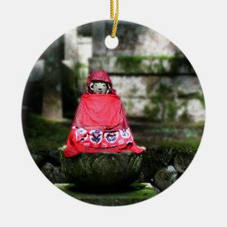 Red Buddha / Jizo Ornament