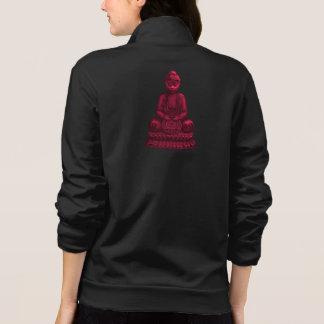 Red Buddha Pixel Art Jackets