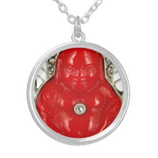 Red Buddha Vintage Art Costume Jewelry Charm