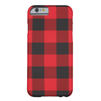 Red Buffalo Check iPhone 6 Case