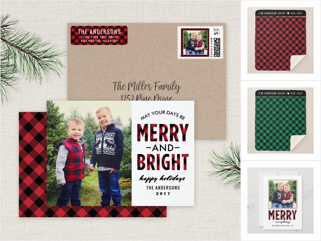 Red Buffalo Plaid | Holiday Card Collection