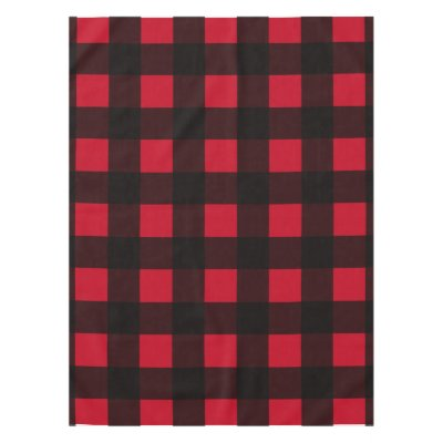 Buffalo Plaid Tablecloth | Zazzle.com