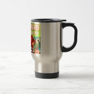Red Bug Eyed Monster Travel Mug