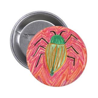 Red Bug Pin