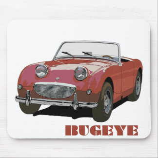 Red Bugeye Mouse Pad