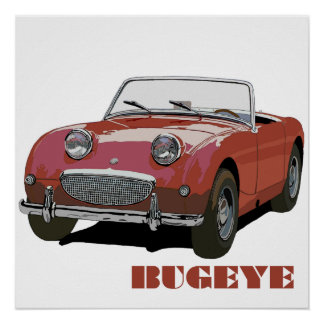 Red Bugeye Poster