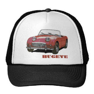Red Bugeye Trucker Hat