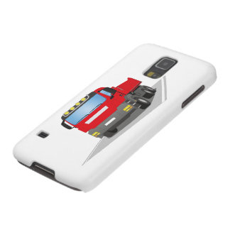 red building sites truck galaxy s5 case